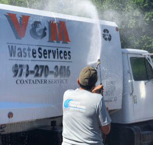 Commercial Power Washing Fleets