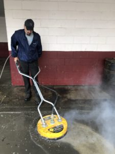 Garage Cleaning - Power Washing