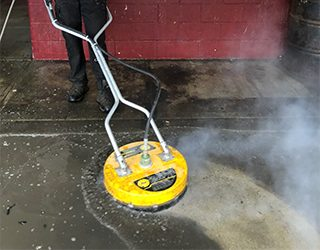 Commercial Power Washing for Cement Floors